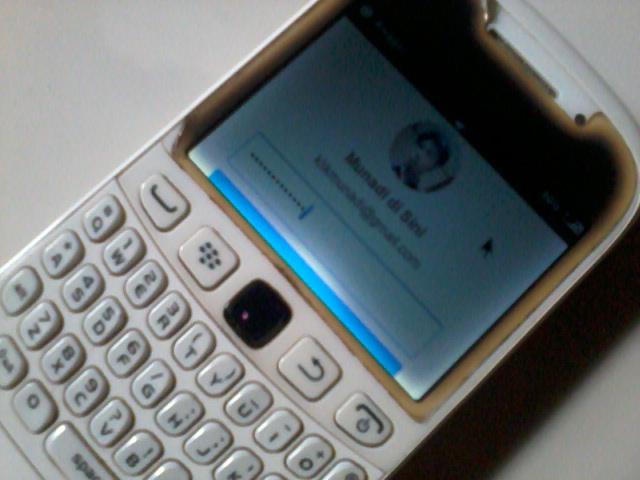 Membuat Artikel di Blogger dari BlackBerry