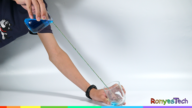 Pour Water down a String | STEM Activity Stpe 4
