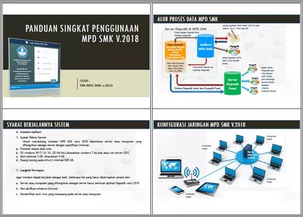 Aplikasi MPD (Manajemen Penilaian Digital) SMK Versi 2018
