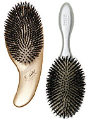 Boar paddle hair brushes