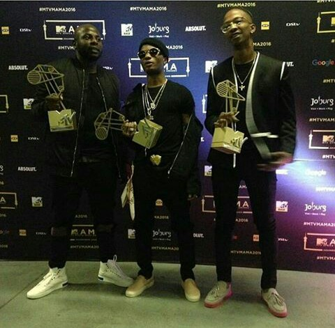 Image result for wizkid mtv base africa awards 2016 red carpet