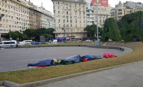 Se cuadruplica la cifra de personas en situación de calle en Argentina