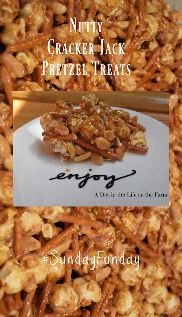 Nutty cracker jack pretzel treats pin