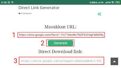 Link Auto Download Google Drive