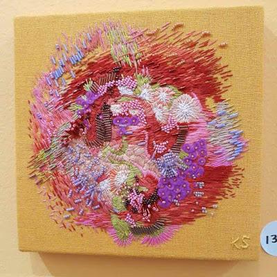 Embroidery art - #HomeIsWhereTheArtIs - Zeitz Mocaa