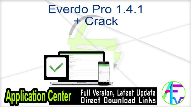 Everdo Pro 1.4.1 + Crack