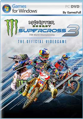 Descarga Monster Energy Supercross 3 gratis español mega y google drive