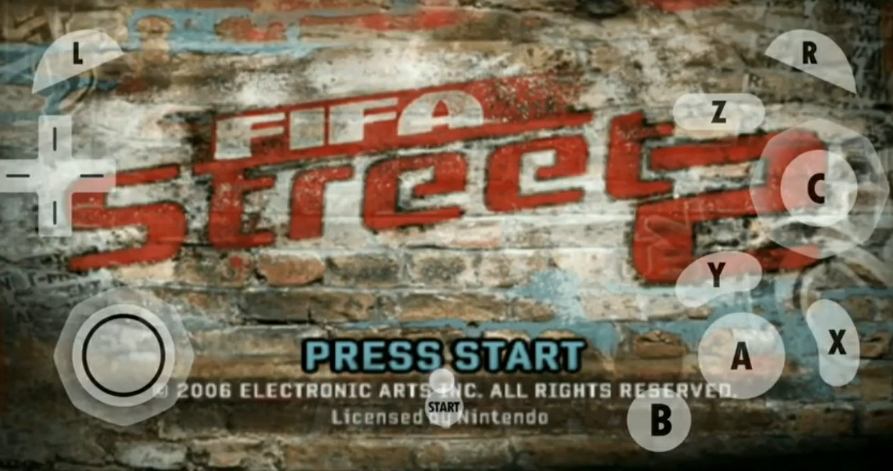 Download FIFA Street 2 ISO Dolphin Emulator For Android