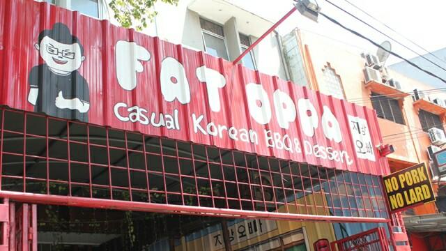 Langkah Kaki Kami Fat Oppa Salah Satu Restoran Korea Yang Murah Dan Halal Di Bandung