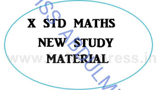 X Maths 1,3,4,6,8 complete material