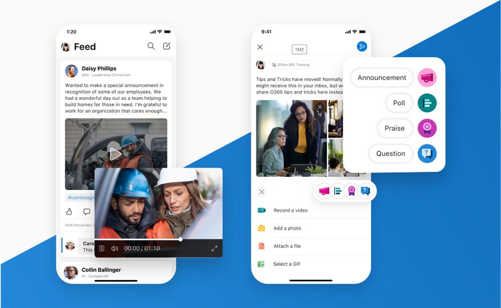 Yammer si rinnova completamente su Android e iOS | Video