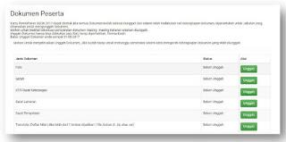 memilih instansi dan Jabatan di web SSCN Cara Mengisi Riwayat Pelamaran SSCN