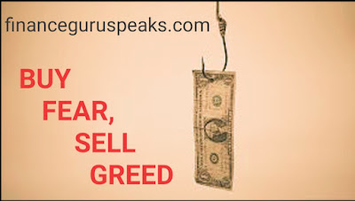 Avoid Fear and Greed in Stock Market