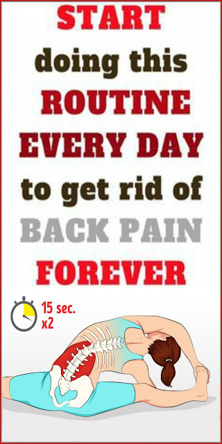 Start Doing This Exercise daily to Get Rid of Back Pain Forever