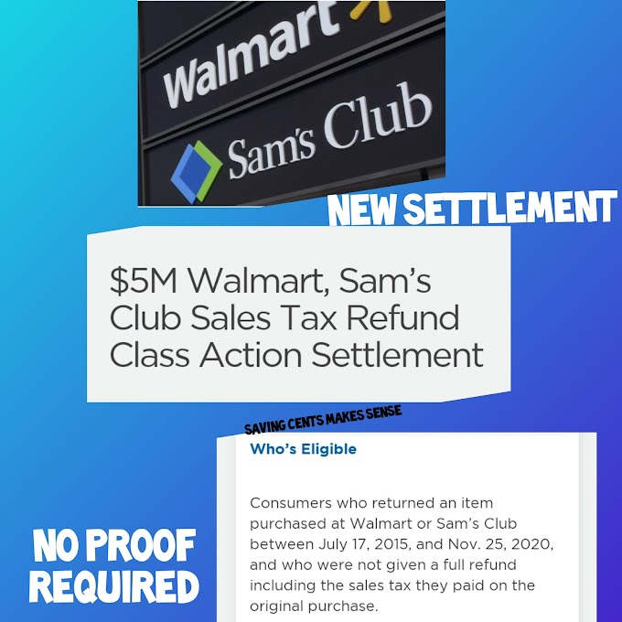Pearlstone v. Wal-Mart Stores Tax Refund Settlement