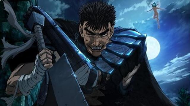 Berserk - Anime Mirip Black Clover [Rekomendasi Terbaik]