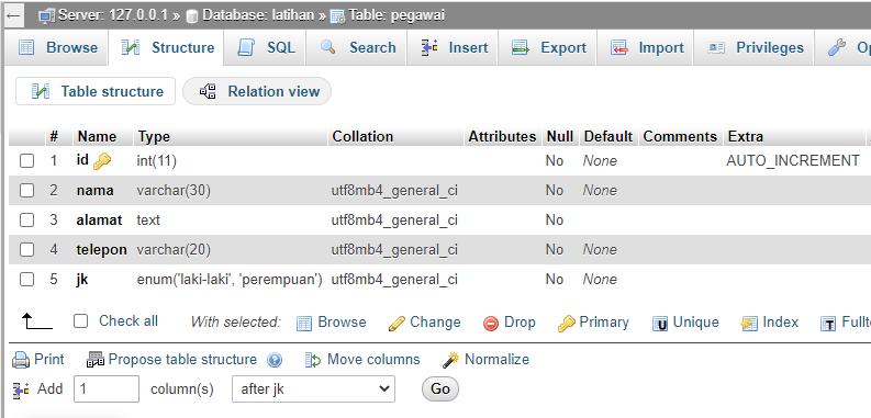 cara membuat ribuan data di mysql dan php