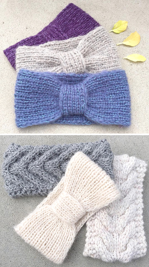 Missy Headband - Free Knitting Pattern
