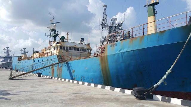 Kapal Buronan Interpol Akan Ditenggelamkan di Pangandaran