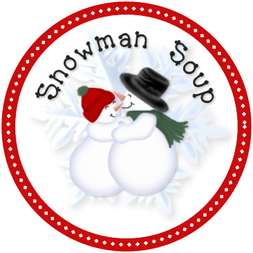 photo regarding Free Printable Snowman Soup Labels named Snowman Soup - Create It Mondays