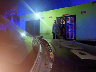 Antisipasi Kejahatan, Personel Polsek Maiwa Laksanakan Patroli Malam
