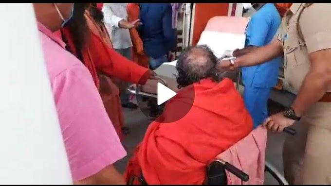 बिग ब्रेकिंग-महाकुंभ की बैठक के दौरान बिगड़ी महन्त नरेंद्र गिरी महाराज की तबियत