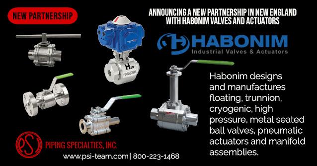 New England - Habonim Valves and Actuators