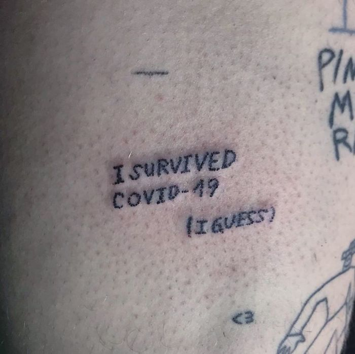 The Craziest And Most Creative Tattoos On Covid-19