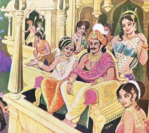 King Tamba Hindu Harem