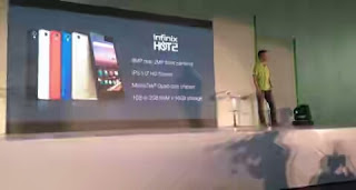 OVER 150,000 UNITS OF THE INFINIX HOT 2 SOLD IN NIGERIA WITHIN TWO MINTHS price in nigeria