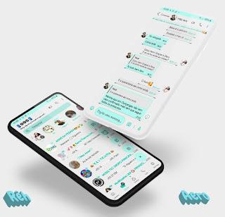 Simple 9 Theme For YOWhatsApp & Aero WhatsApp By Reh