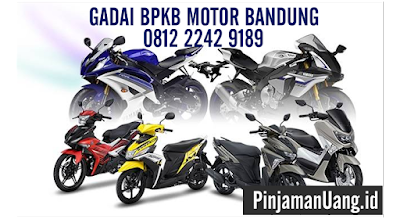 Gadai BPKB Motor di Bandung