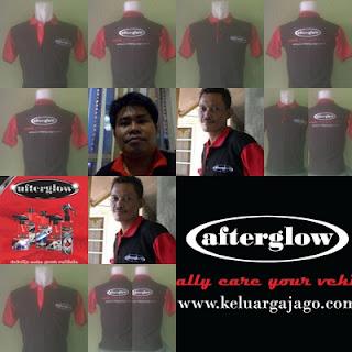 Kaos Kerah Afterglow Keluarga Jago