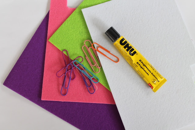 DIY Felt Butterfly Bookmarks - What You Will Need