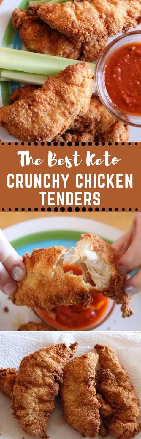 KETO CHICKEN TENDERS #diet #whole30 #healthy #paleo #chicken