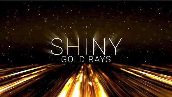 Shiny Gold Rays | Award Titles 4[Motion Array][After Effects][475528]