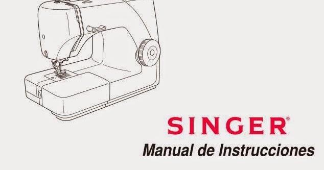 SINGER-1507-8280- MANUAL MÁQUINA DE COSER