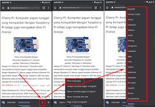 Cara Mengaktifkan Auto Translate Di Google Chrome Android