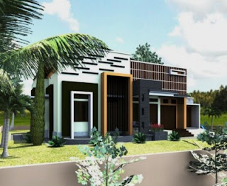 ide desain rumah minimalis modern 1 lantai