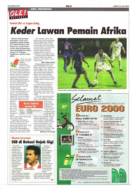 LIGA INDONESIA INSTANT DICT VS LEGIUN ASING