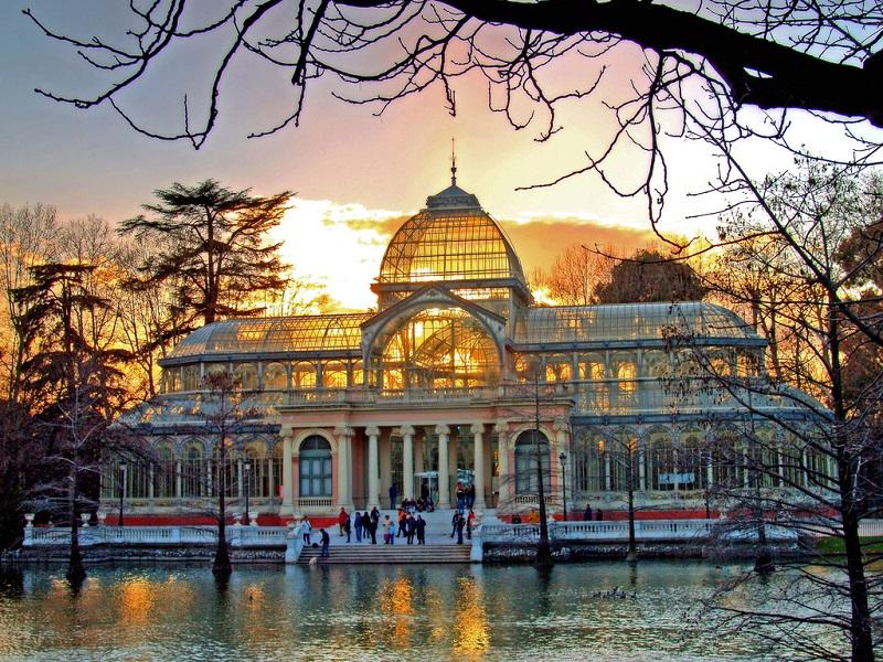 Pal cio de cristal em madri dicas de barcelona e espanha for Barrio ciudad jardin madrid