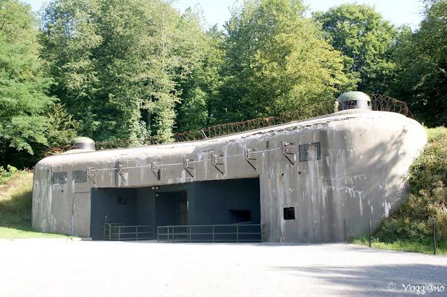 Entrata al Forte di Schoenenbourg