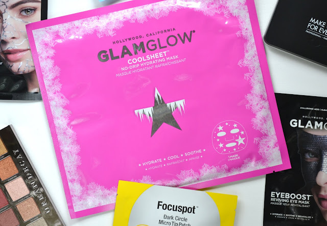 GLAMGLOW COOLSHEET No Drip Hydrating Sheet Mask