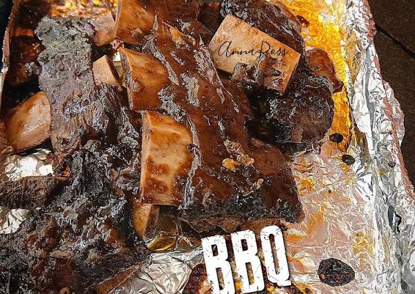 BBQ beef ribs ala resto (pakai saos sdh jd)