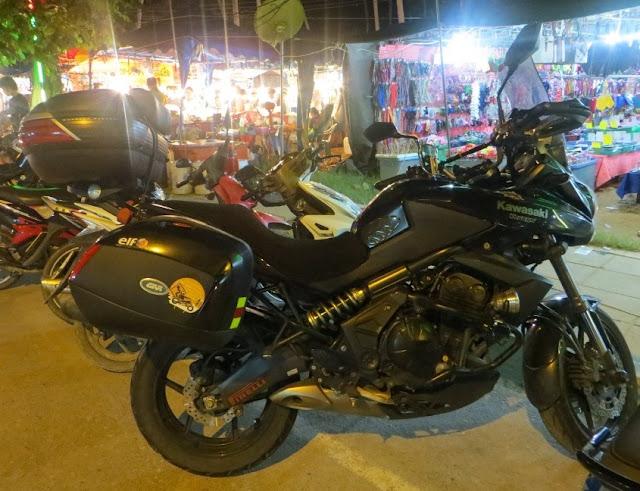 Кавасаки версис 650 Таиланд