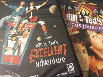 Bill and Ted DVDs