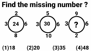 missing number questions with solutions