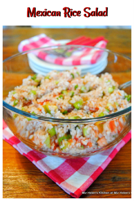 Mexican Rice Salad