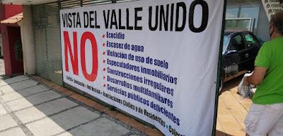 Vecinos se oponen a la construcción de departamentos