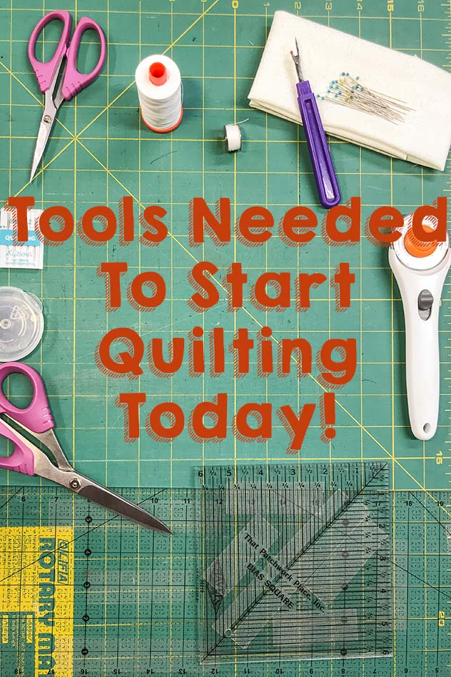 There's lots of tools for quilting but find out the ones you need to get started quilting today.